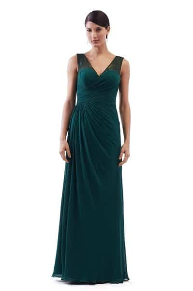 Chiffon Bridesmaid Dress - BM1824-2T