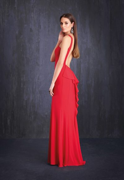 Low Back Ball Gown K7465