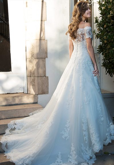 Lace Wedding Dress VE8265