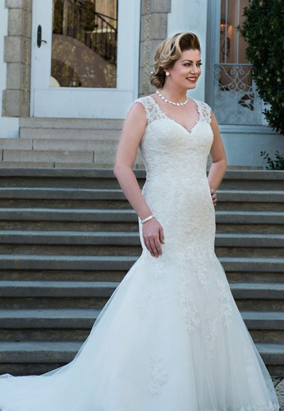 Plus Size Wedding Dress VW8728, Auckland NZ