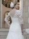 Wedding Dress VW8735 Back CU