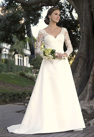 Wedding Dress with Sleeves AT4646x