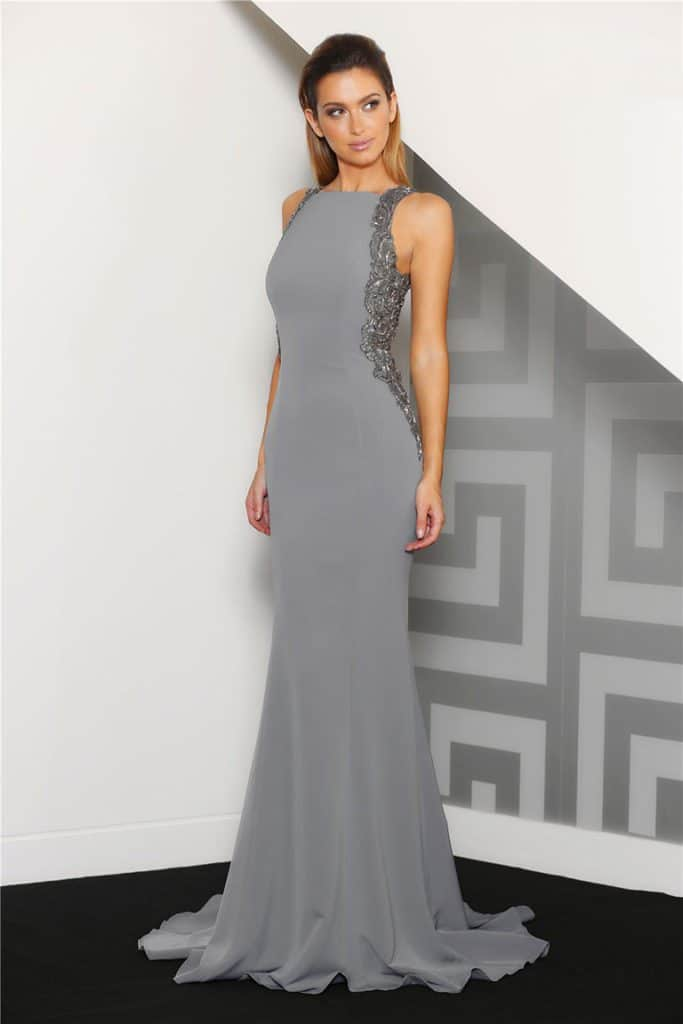 Ball Gown J8060 Charcoal