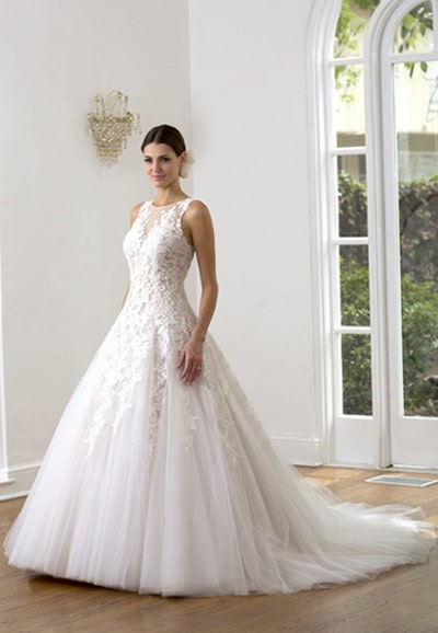 VE8229-Princess Wedding Gown