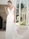 PA9261 Satin Wedding Dress