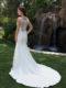 PA9264 Wedding Dress Back
