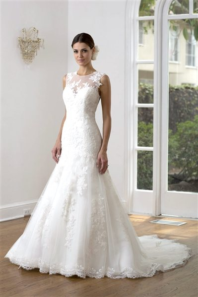 Wedding gown Ve8223 Front