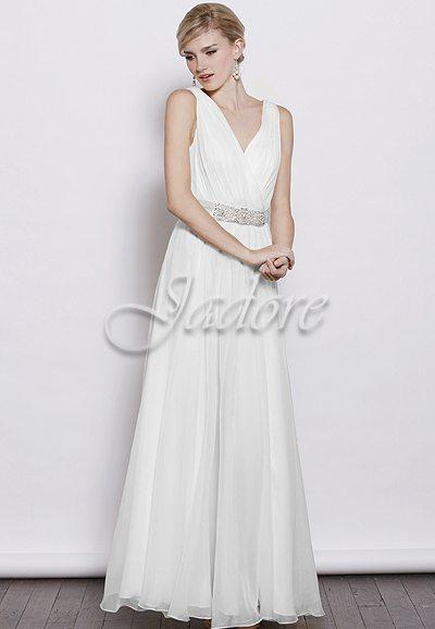 J3040L Chiffon gown