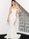 J8087 Ivory nude Wedding Dress