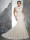 Keri 3233 Plus Size Lace Wedding Dress