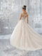 5573-Fairytale gown with Intricate Illusion Back