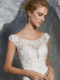 8219-  Bridal Gown with Crystal Beaded Lace