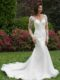 Lace wedding gown AT4689N