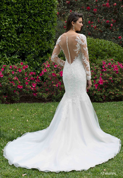 Wedding Dress AT4689N Auckland