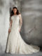 3243 plus size wedding gown