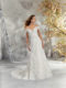 5692 off the shoulder wedding dress