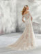 Leighton 8293 wedding dress back