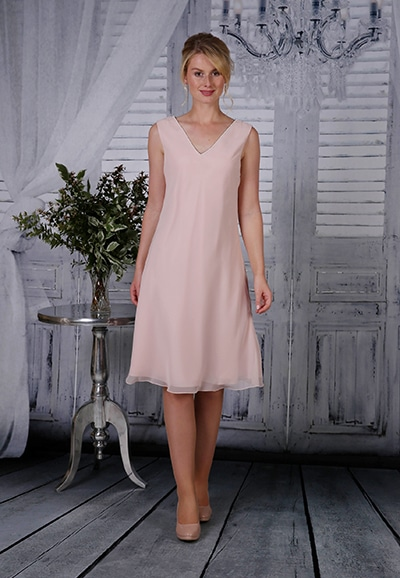 Mother of the bride dress RDAD 1024 Rose