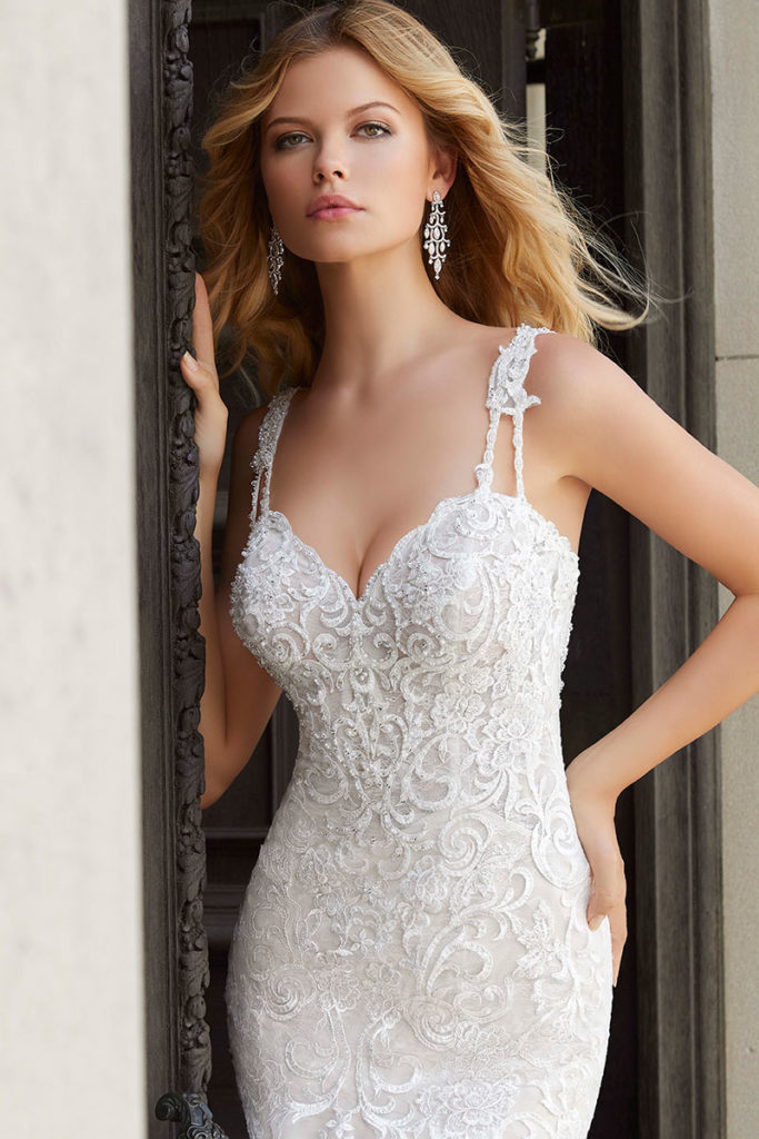 Prospera-mermaid wedding dress 2024-bead detail