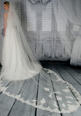 Two-Tier-Veil-with-beaded-lace