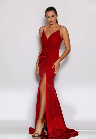 Ball Gown JX2110-Red-Thumbnail