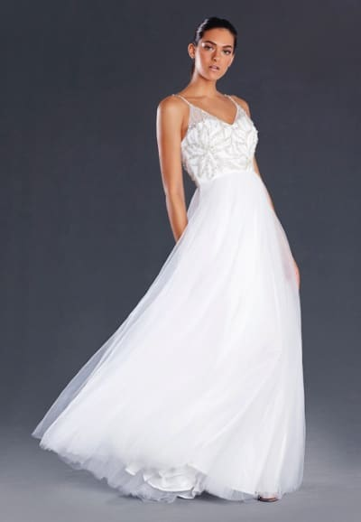 JX082 White_Ball Gown