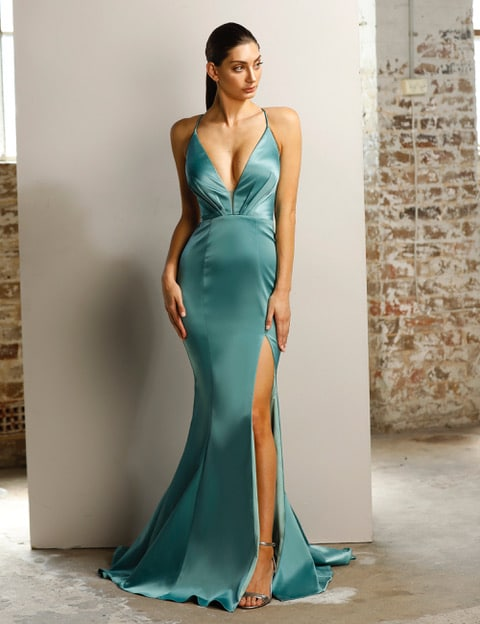 Ball Gown JX1101 Jade
