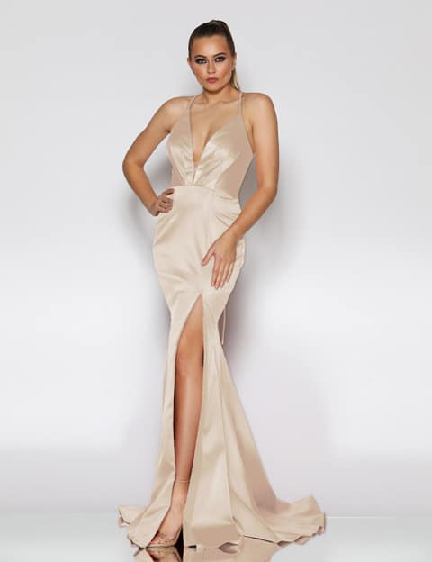 Ball Gown JX1101 Nude