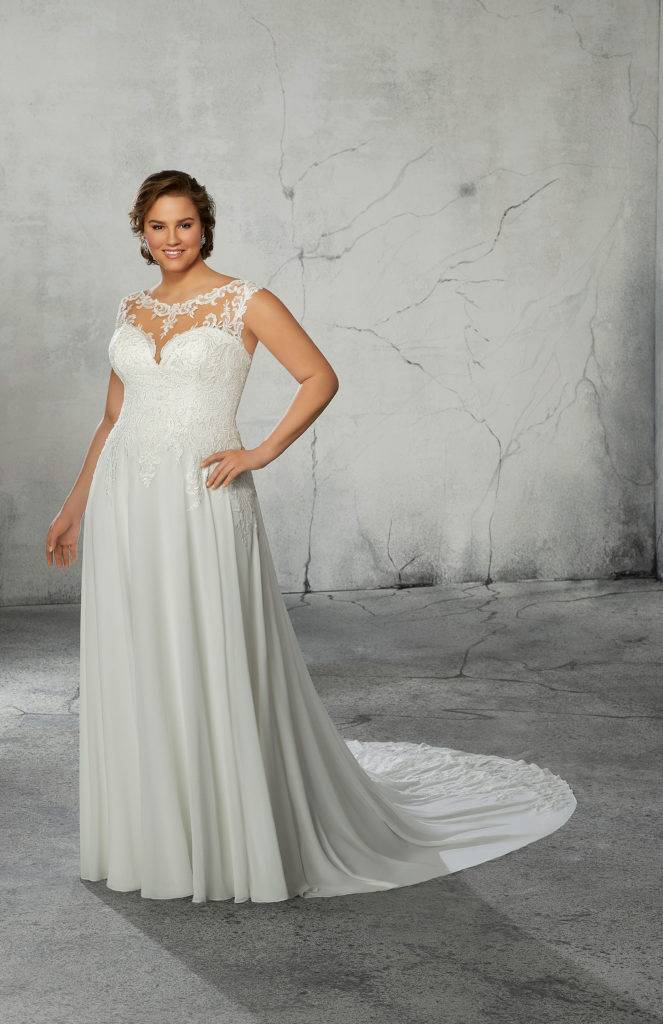 Ramona-Plus-Size-Wedding-Dress3267-front