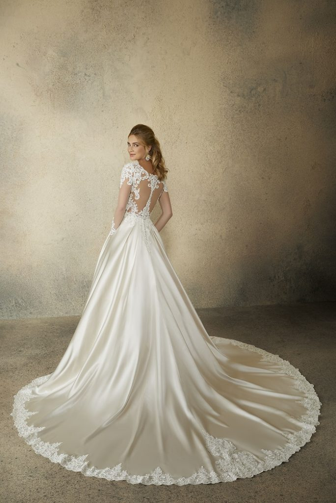 Reina Wedding Dress 2082-back