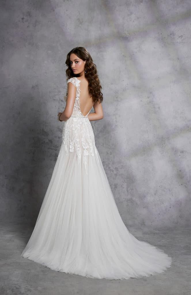 18315 Ilham Wedding Dress _back