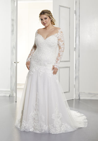 3301-Adrian-mermaid-plus-size-wedding-dress-front