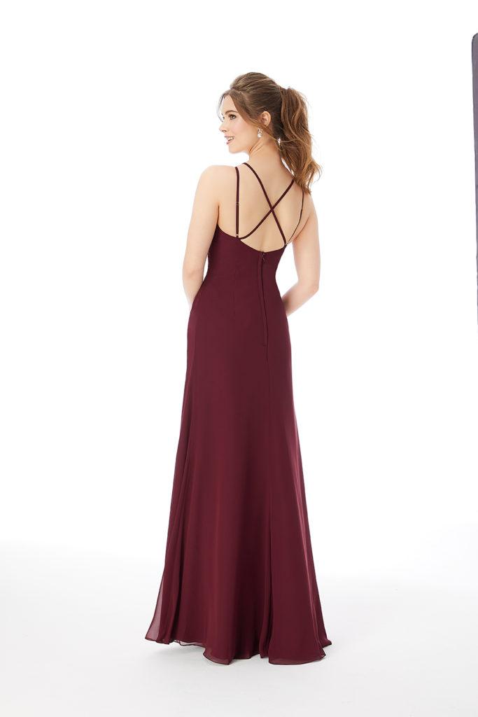 Strappy-Chiffon-Bridesmaid-Dress-Back