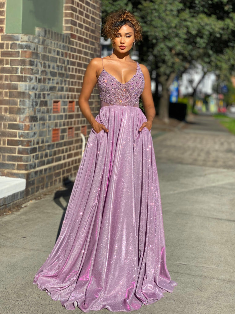 Ball Gown JX4040-Lilac