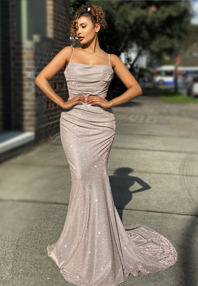 Shimmer ball gown JX4010-feature