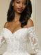 Novella wedding dress 51839 lace detail